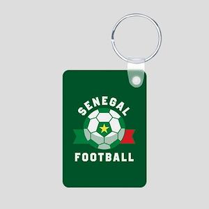 Senegal Football Aluminum Photo Keychain