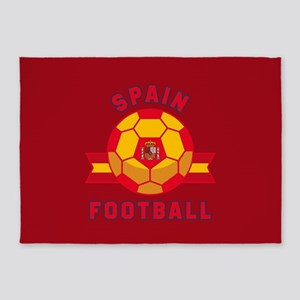 Spain Football 5'x7'Area Rug