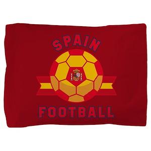 Spain Football Pillow Sham