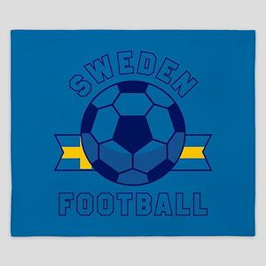 Sweden Football King Duvet