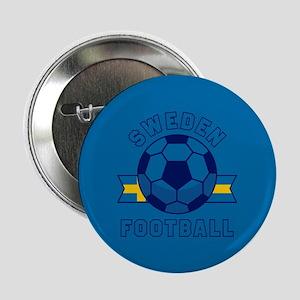 """Sweden Football 2.25"""" Button (10 pack)"""