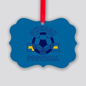 Sweden Football Picture Ornament