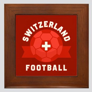 Switzerland Football Framed Tile