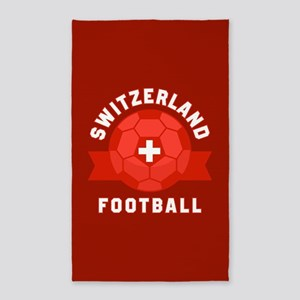 Switzerland Football Area Rug