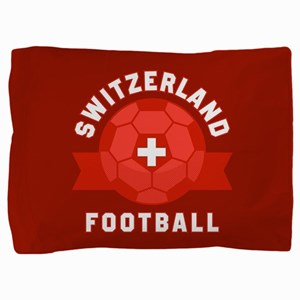 Switzerland Football Pillow Sham
