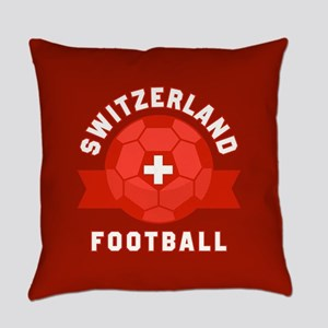Switzerland Football Everyday Pillow