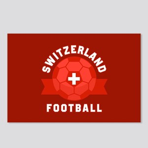 Switzerland Football Postcards (Package of 8)