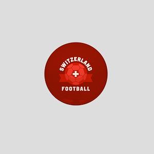 Switzerland Football Mini Button