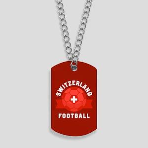 Switzerland Football Dog Tags
