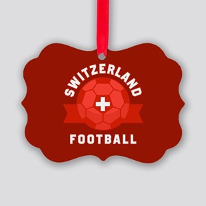 Switzerland Football Picture Ornament