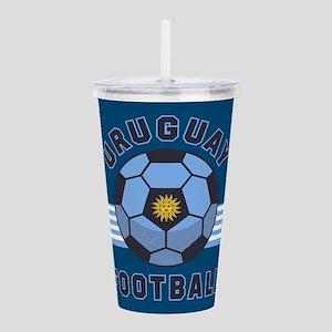 Uruguay Football Acrylic Double-wall Tumbler