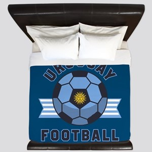 Uruguay Football King Duvet