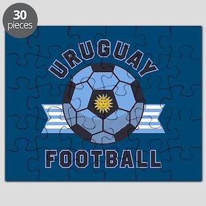 Uruguay Football Puzzle