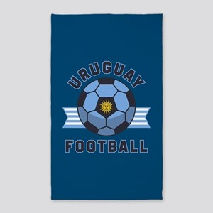Uruguay Football Area Rug