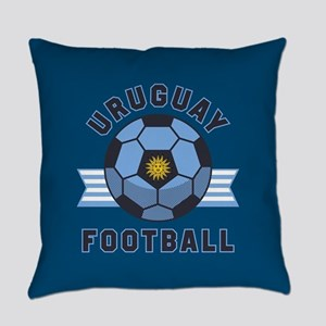 Uruguay Football Everyday Pillow