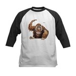 Orangutan Ape Kids Baseball Jersey