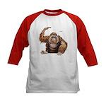 Orangutan Ape (Front) Kids Baseball Jersey