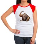 Orangutan Ape Women's Cap Sleeve T-Shirt