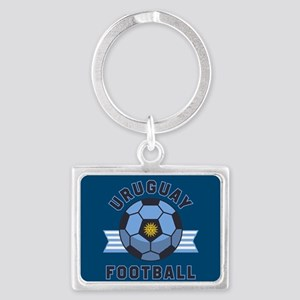 Uruguay Football Landscape Keychain