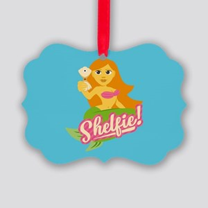 Emojione Mermaid Shelfie Picture Ornament