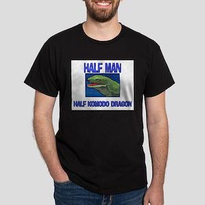Half Man Half Komodo Dragon Dark T-Shirt