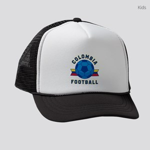 Colombia Football Kids Trucker hat