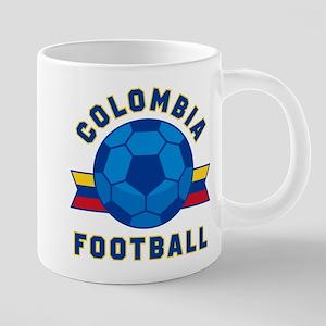 Colombia Football Mugs