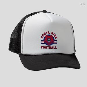 Costa Rica Football Kids Trucker hat