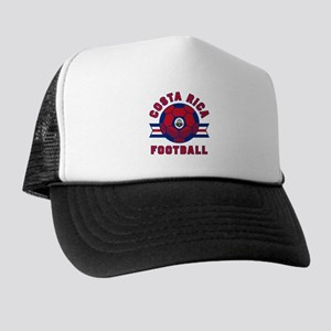 Costa Rica Football Trucker Hat