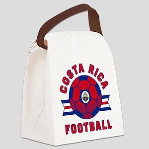 Costa Rica Football Canvas Lunch Bag
