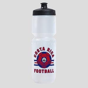 Costa Rica Football Sports Bottle