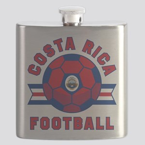 Costa Rica Football Flask