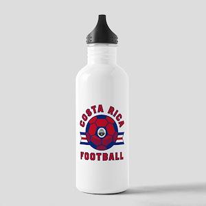 Costa Rica Football Water Bottle