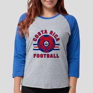 Costa Rica Football Long Sleeve T-Shirt