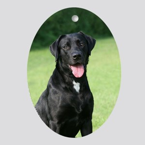 Labrador Retriever Oval Ornament