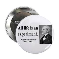 "Ralph Waldo Emerson 34 2.25"" Button (100 pack"