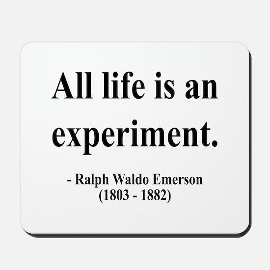 Ralph Waldo Emerson 34 Mousepad