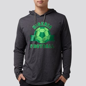 Nigeria Football Long Sleeve T-Shirt