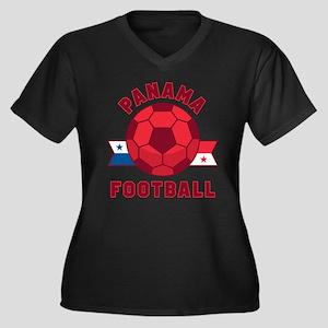Panama Football Plus Size T-Shirt