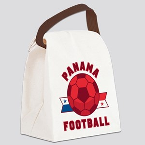Panama Football Canvas Lunch Bag