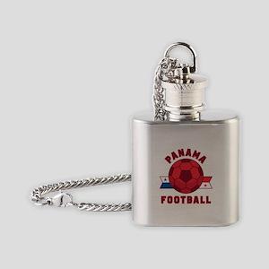 Panama Football Flask Necklace