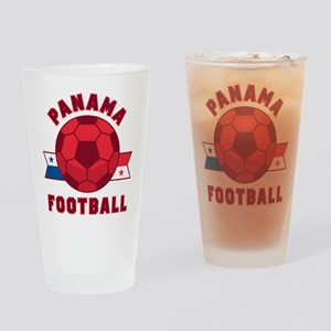 Panama Football Drinking Glass