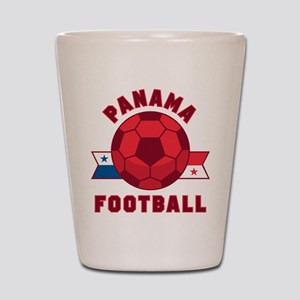 Panama Football Shot Glass