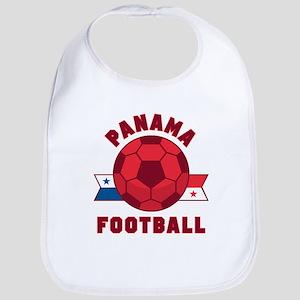 Panama Football Baby Bib