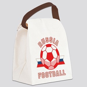 Russia Football Canvas Lunch Bag