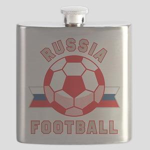 Russia Football Flask