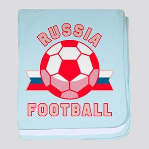 Russia Football baby blanket