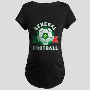 Senegal Football Maternity T-Shirt