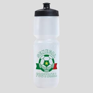 Senegal Football Sports Bottle