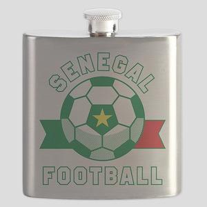 Senegal Football Flask
